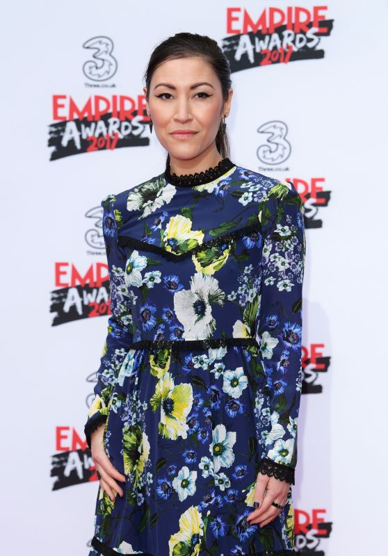 Eleanor Matsuura on Red Carpet – Three Empire Awards in London 3/19/ 2017