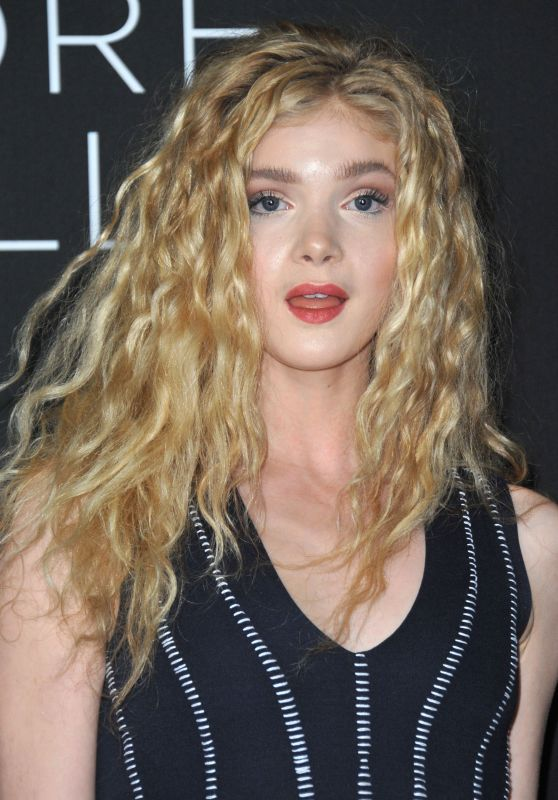 Elena Kampouris at 'Before I Fall' Premiere in Los Angeles 3/1/ 2017