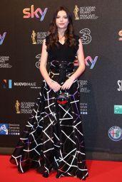 Eleonora Gaggero – David di Donatello Awards in Rome 3/27/2017
