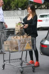 Elisabetta Canalis - Loads-Up on Groceries at Bristol Farm in Los Angeles 3/10/ 2017