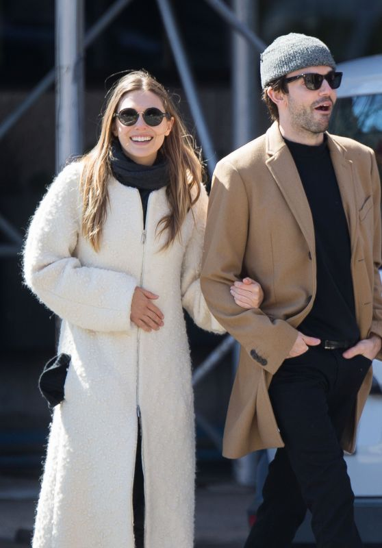 Elizabeth Olsen Holding the Hand of a Mystery Man - Out For a Walk in NYC 3/20/ 2017