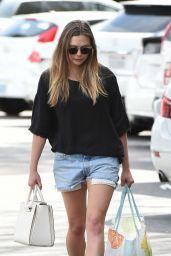Elizabeth Olsen in Shorts - Grocery Shopping 3/14/ 2017