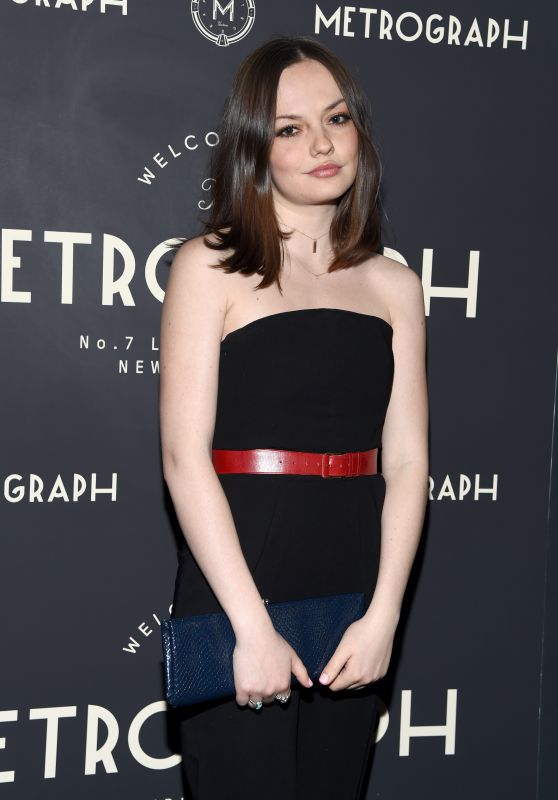 Emily Meade – Metrograph 1st Year Anniversary Celebration in NYC 3/8/ 2017