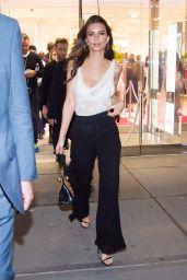 Emily Ratajkowski Hosts H&M Studio Collection Launch Event in New York City 3/1/ 2017