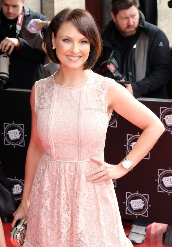 Emma Barton at The TRIC Awards in Central London 3/14/ 2017