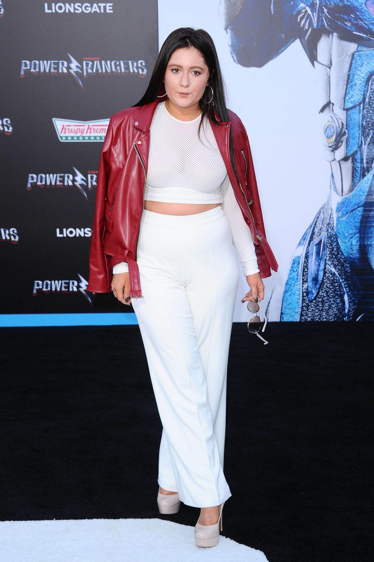Emma Kenney Power Rangers Premiere In Los Angeles 322