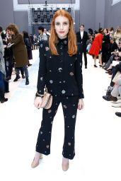 Emma Roberts at Paris Fashion Week - Chloe Show 3/2/ 2017