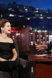 Emma Watson Appeared on Jimmy Kimmel Live 3/6/ 2017