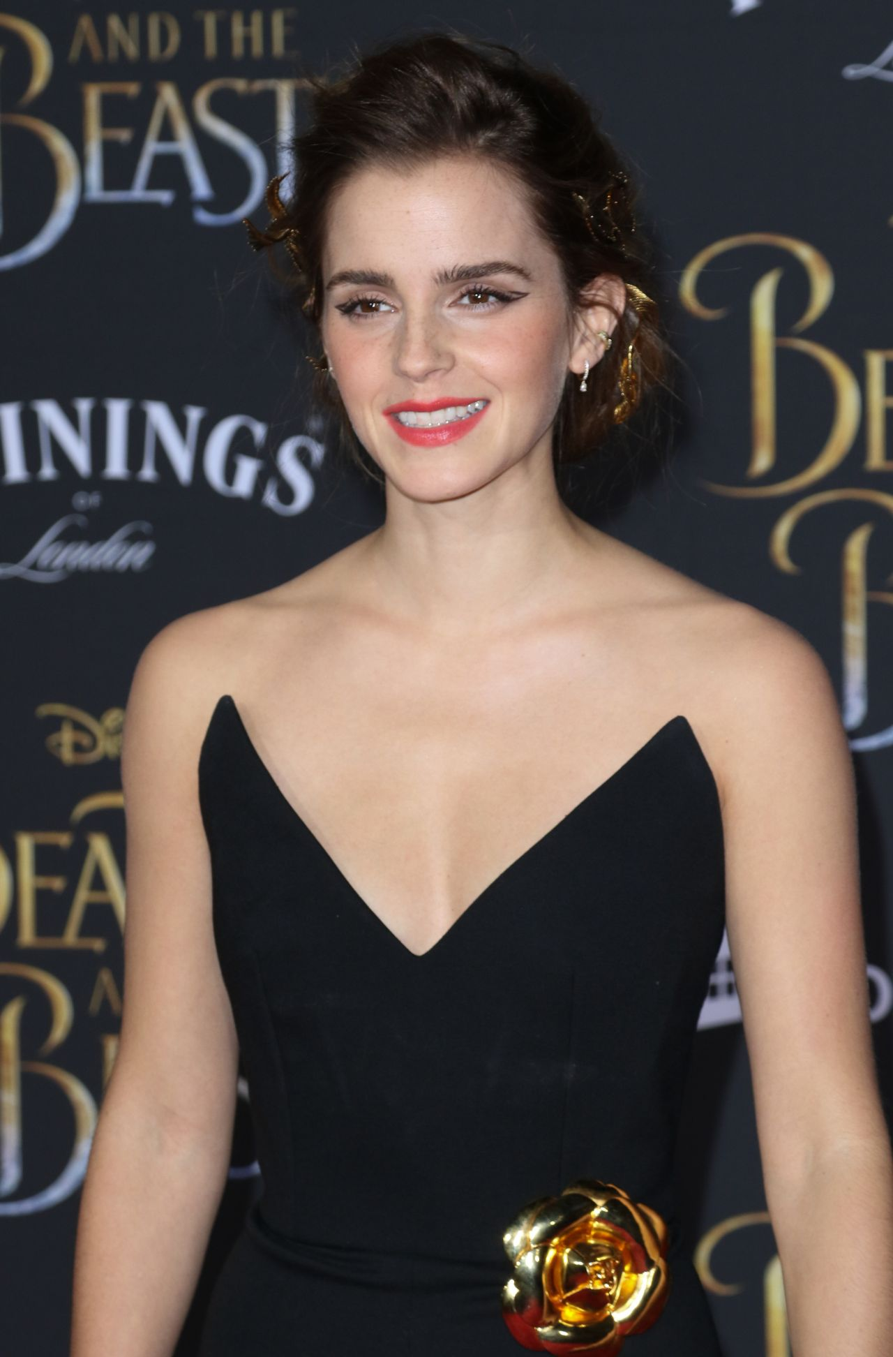 Emma Watson at 'Beauty and the Beast' Premiere in Los ... Emma Watson