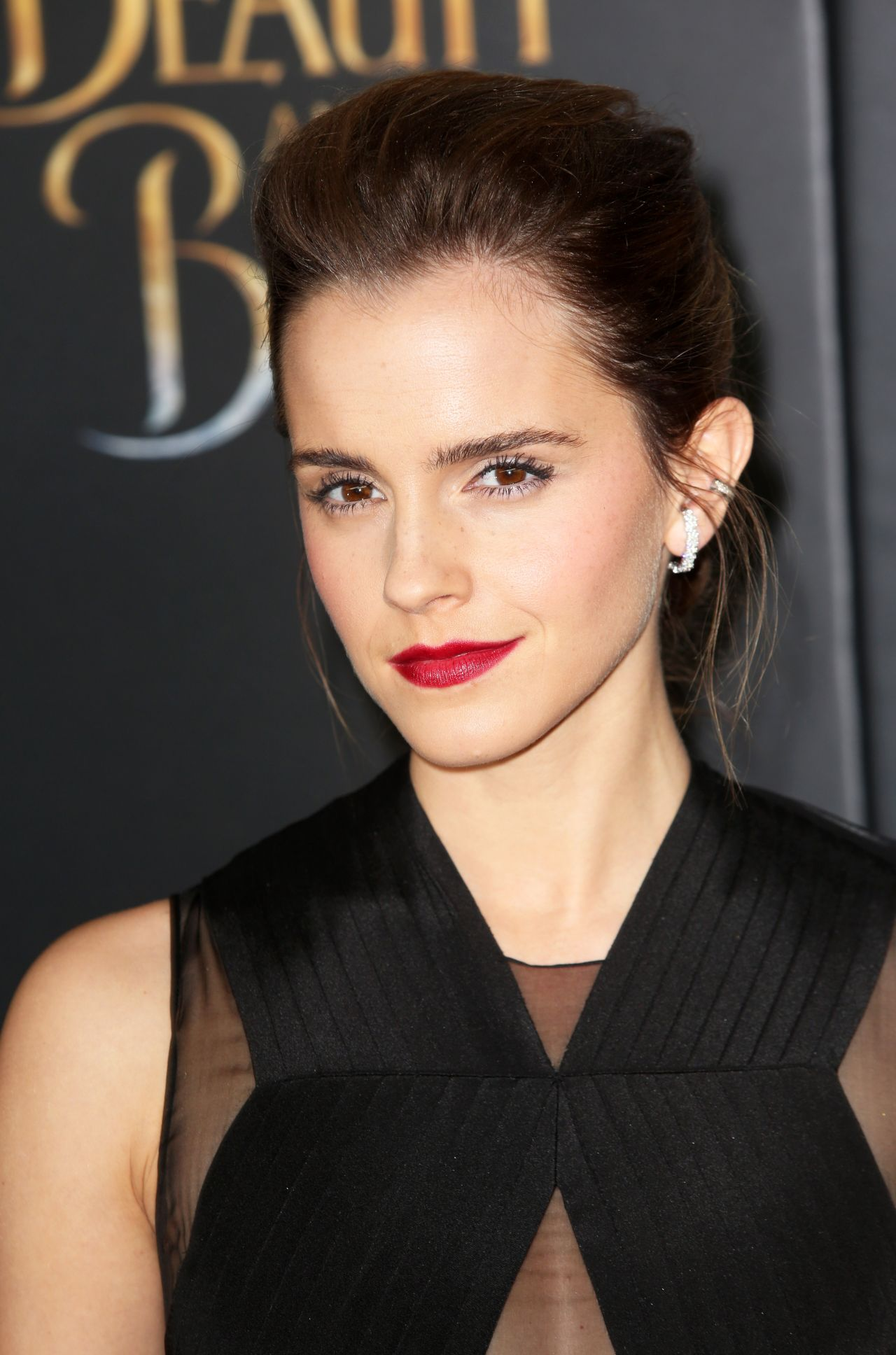 Emma Watson - 'Beauty And The Beast' Screening at Lincoln ... Emma Watson