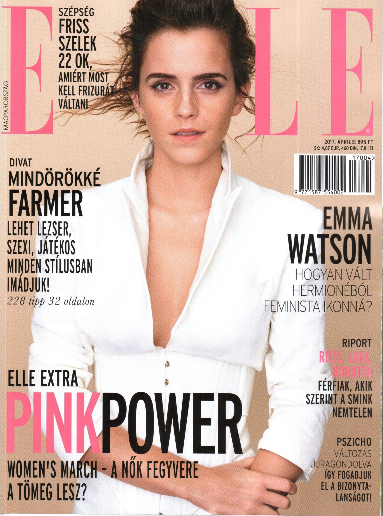 Elle Magazine France February March: ELLE Magazine Hungary April 2017