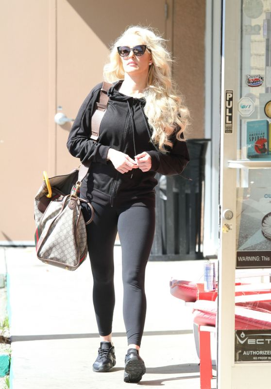 Erika Jayne is Ready for Another Rehearsal With Her DWTS in Los Angeles 3/11/ 2017