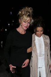 Eva Longoria and Melanie Griffith at Catch LA Restaurant in West Hollywood 3/25/ 2017