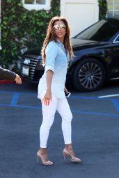 Eva Longoria Cute Style - Leaving Cafe Med Restaurant in West Hollywood 3/7/ 2017