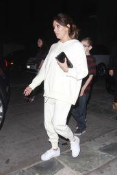 Eva Longoria - Leaving the Ago Restaurant in Los Angeles 3/13/ 2017