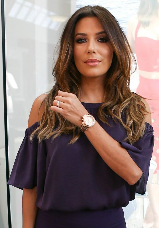 Eva Longoria - TechnoMarine Watch Line Promotion in Miami 3/12/ 2017
