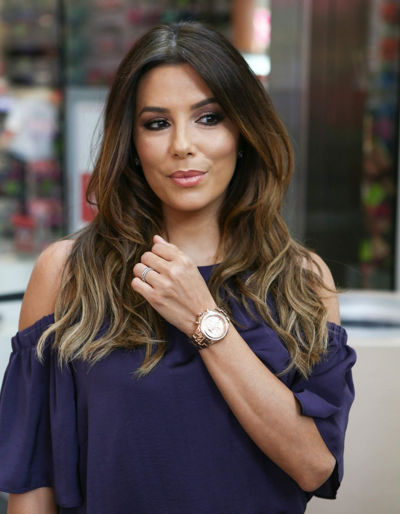 Eva Longoria Technomarine Watch Line Promotion In Miami