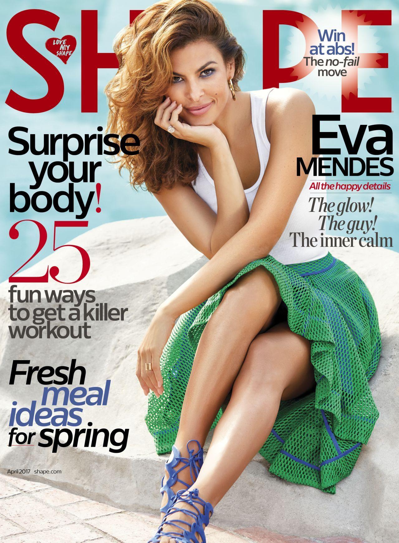 Eva Mendes - Shape Magazine 2017/April Cover