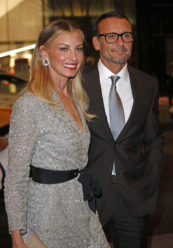 Faith Hill - Arriving at MOMA for the Screening of