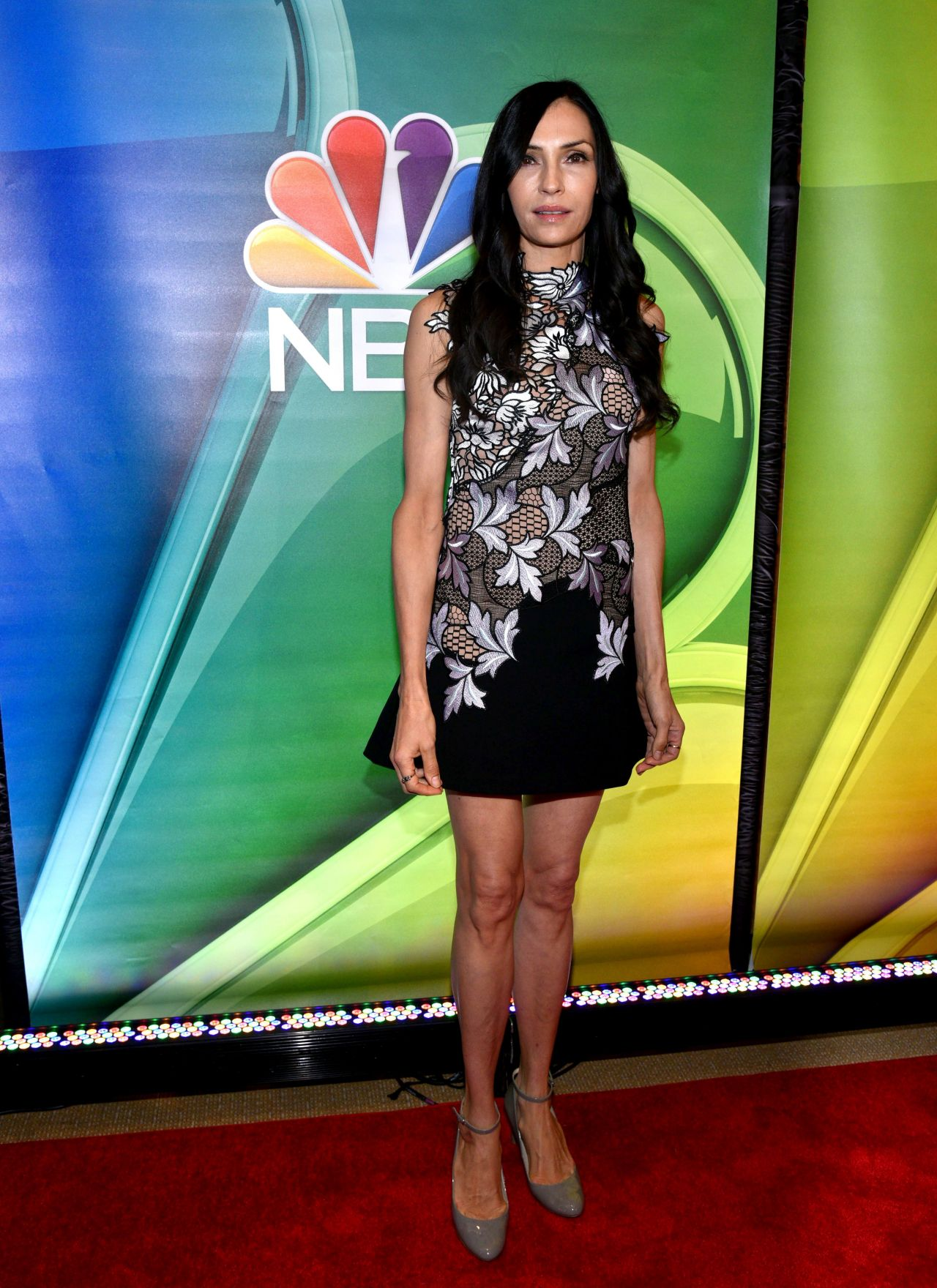 Famke Janssen – NBC Mid Season Press Day in New York 3/2 ...