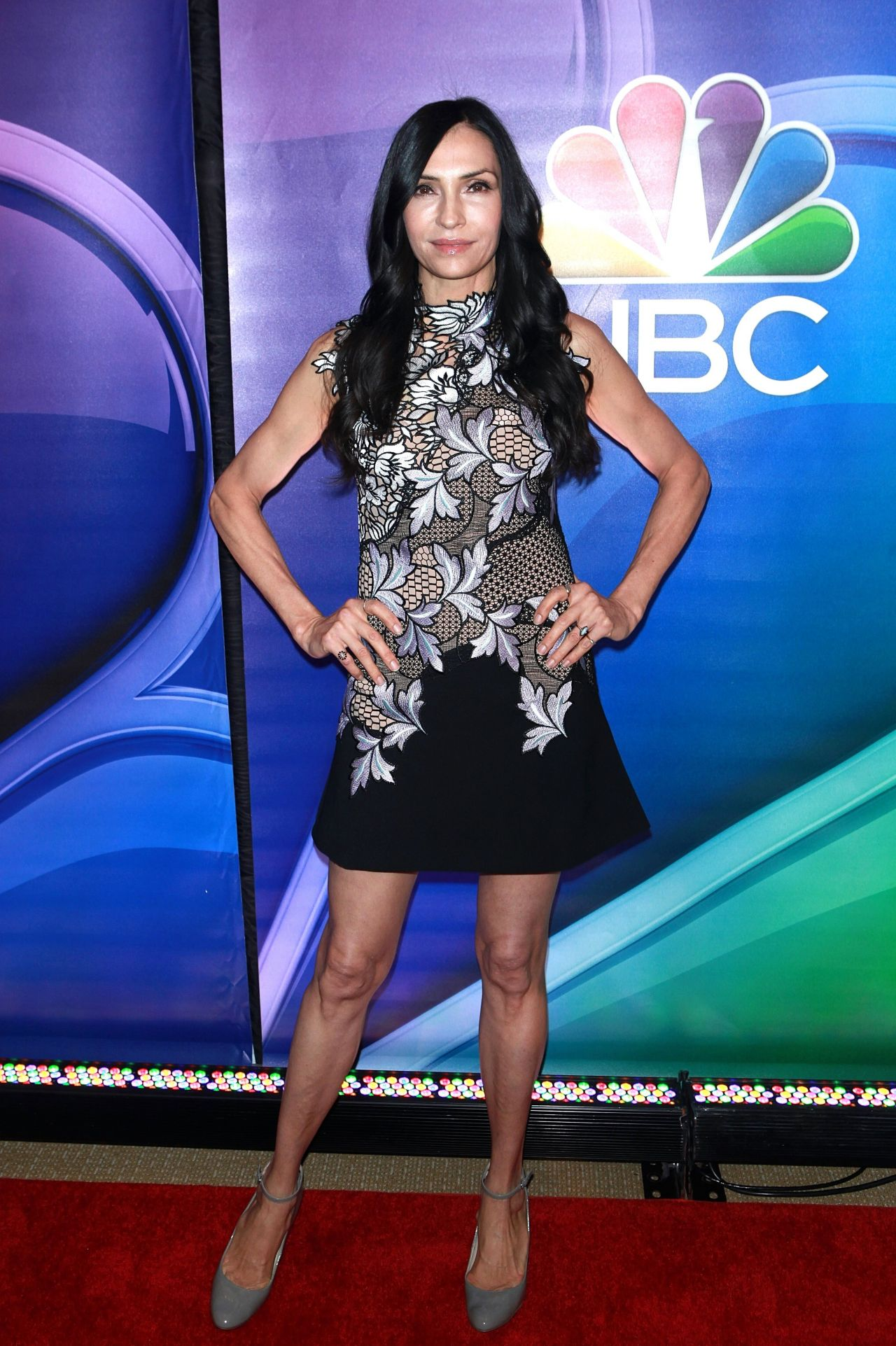 Famke Janssen Nbc Mid Season Press Day In New York 3 2 2017