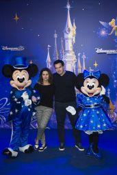 Faustine Bollaert – Disneyland Paris 25th Anniversary 3/25/2017