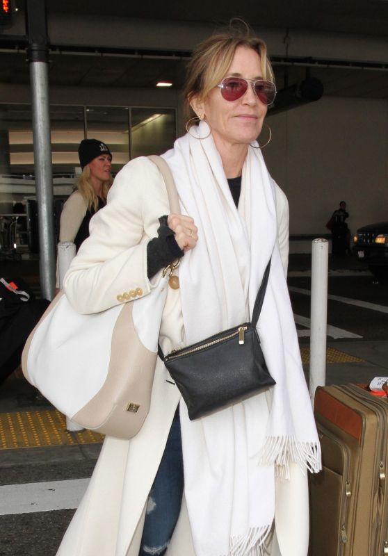 Felicity Huffman - Arrives at LAX 3/10/ 2017