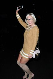 Frankie Essex Night Out Style - London 3/19/ 2017