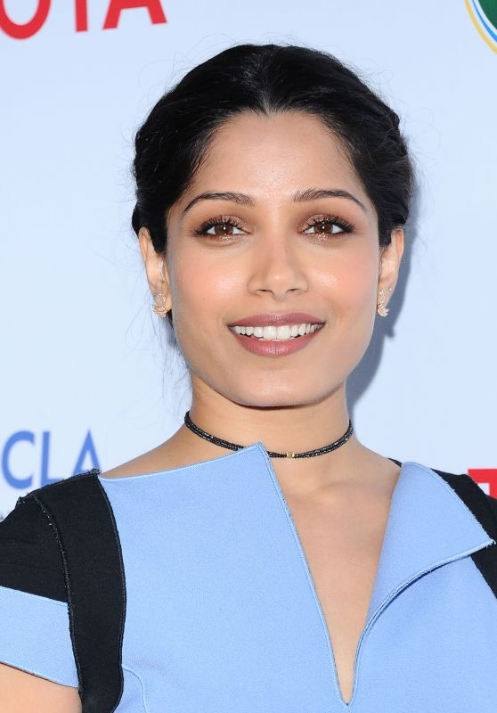 Freida Pinto – UCLA Environment and Sustainability Gala in Los Angeles 3/13/ 2017
