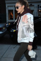 Gigi Hadid Arriving Home in NYC 3/29/2017