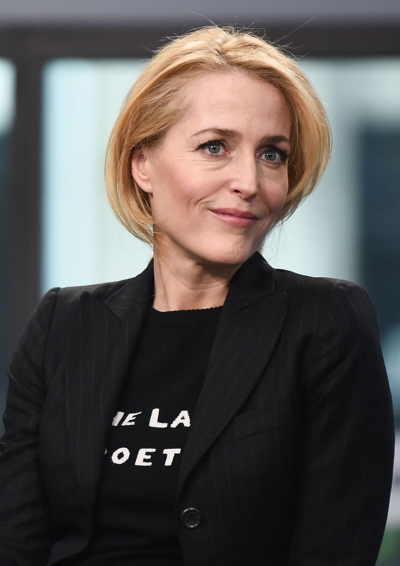 Gillian Anderson At Aol Build Show Studio 3 13 2017