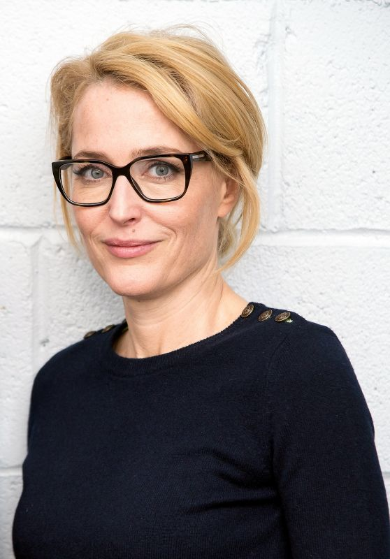 Gillian Anderson - Tribeca Talks in Support of UN Women