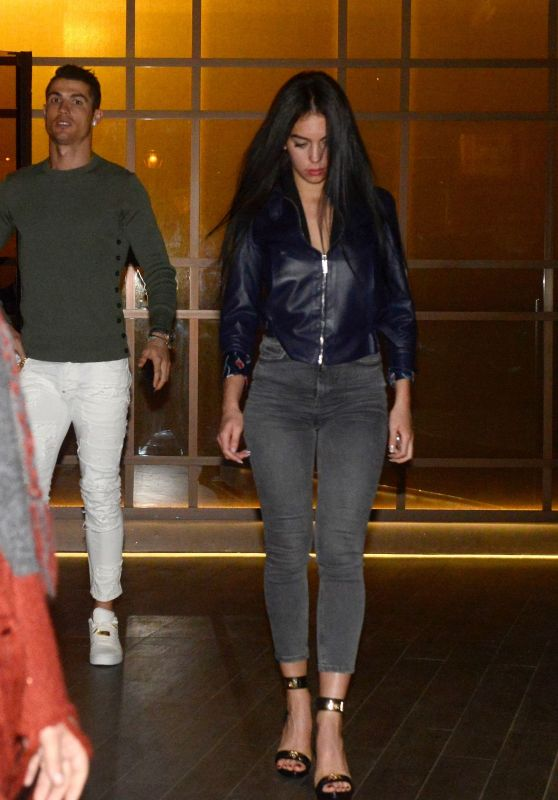 Giorgina Rodriguez Night Date With Cristiano Ronaldo in Madrid 3/9/ 2017