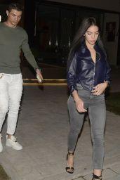 Giorgina Rodriguez Night Date With Cristiano Ronaldo in Madrid 3/9/ 2017