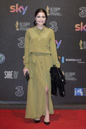 Giulia Elettra Gorietti – David di Donatello Awards in Rome 3/27/2017