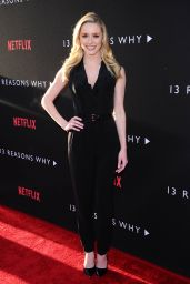 "Greer Grammer – ""13 Reasons Why"" TV Series Premiere in LA 3/30/2017"