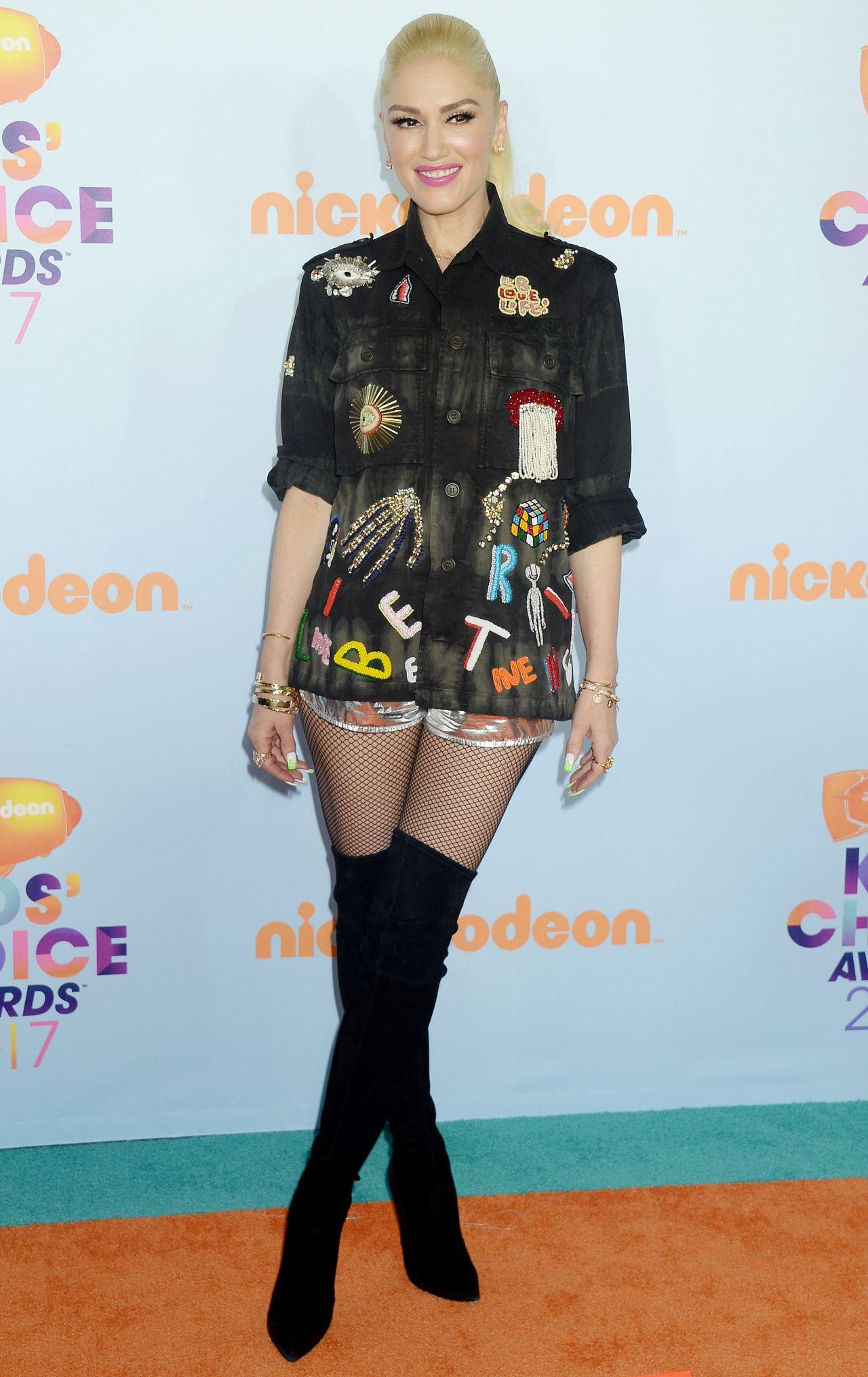 Gwen Stefani – Nickelodeon's Kids' Choice Awards in Los ...