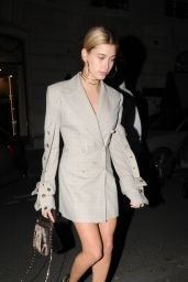 Hailey Baldwin is Stylish - Out an About in Paris 3/2/ 2017