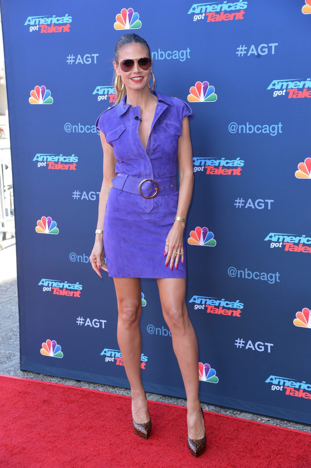 Americas got talent 2017 2 - Heidi Klum America S Got Talent Season 12 Kick Off Event In La 3 27 2017