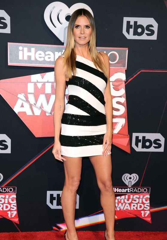 Heidi Klum - iHeartRadio Music Awards in Inglewood 3/5/ 2017