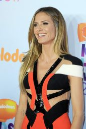 Heidi Klum – Nickelodeon's Kids' Choice Awards in Los Angeles 03/11/ 2017