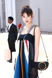 Hikari Mori at Chloe Chow, Autumn Winter 2017 - Paris Fashion Week 3/2/ 2017
