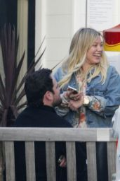 Hilary Duff Casual Style - Out for a Sushi Dinner in Beverly Hills 3/26/2017