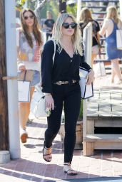 Hilary Duff Casual Style - Shops at Fred Segal in West Hollywood 3/12/ 2017