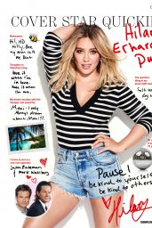 Hilary Duff - Cosmopolitan Magazine Australia April 2017 Issue