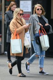 Hilary Duff - Out in Soho in NYC 3/8/ 2017