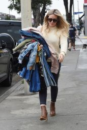 Hilary Duff - Out in West Hollywood 3/21/ 2017