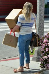 Hilary Duff - Out Shopping in Brentwood 3/17/ 2017