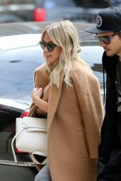 Hilary Duff - Out With Her Boyfriend in New York City, March 2017