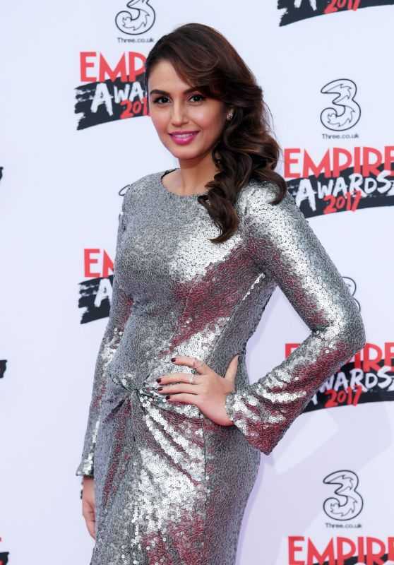 Huma Qureshi – Three Empire Awards in London 3/19/ 2017